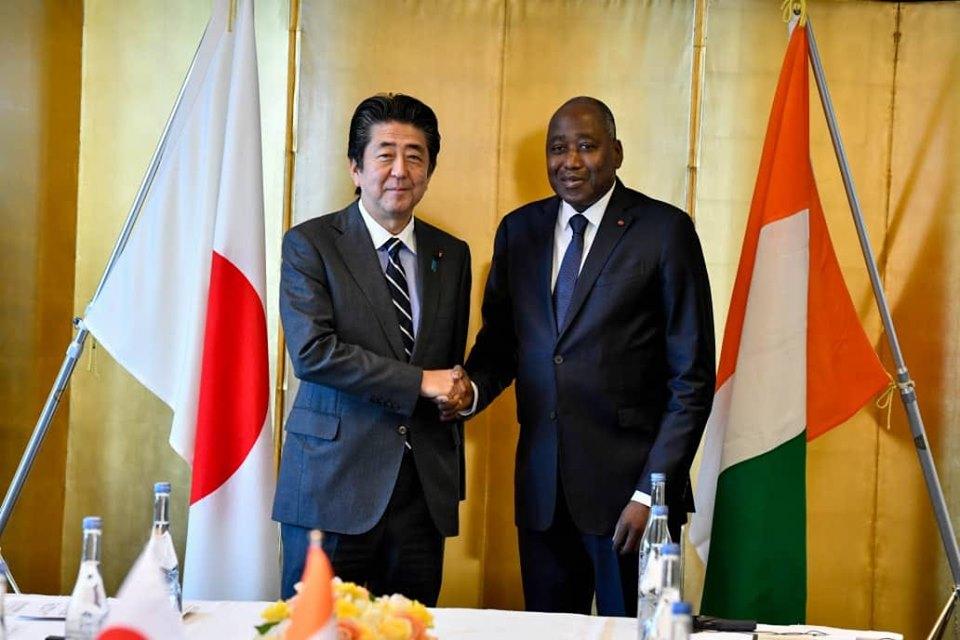 Coopération,Côte d'Ivoire-Japon,Amadou Gon Coulibaly,Shinzo Abé