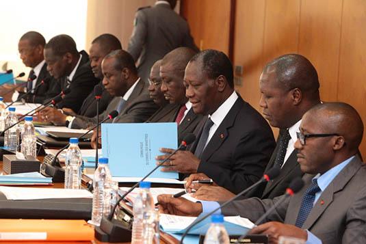 Conseil des ministres,Déclaration