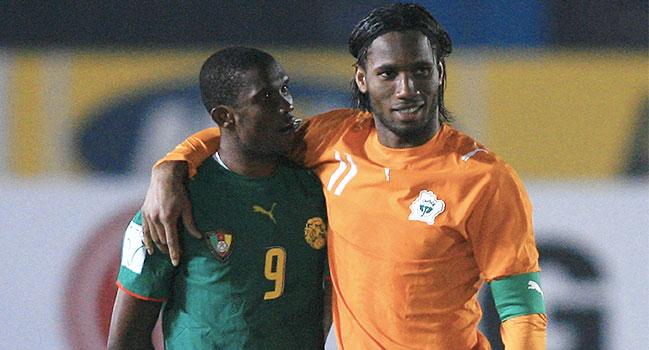 Football,Drogba,Samuel Eto'o