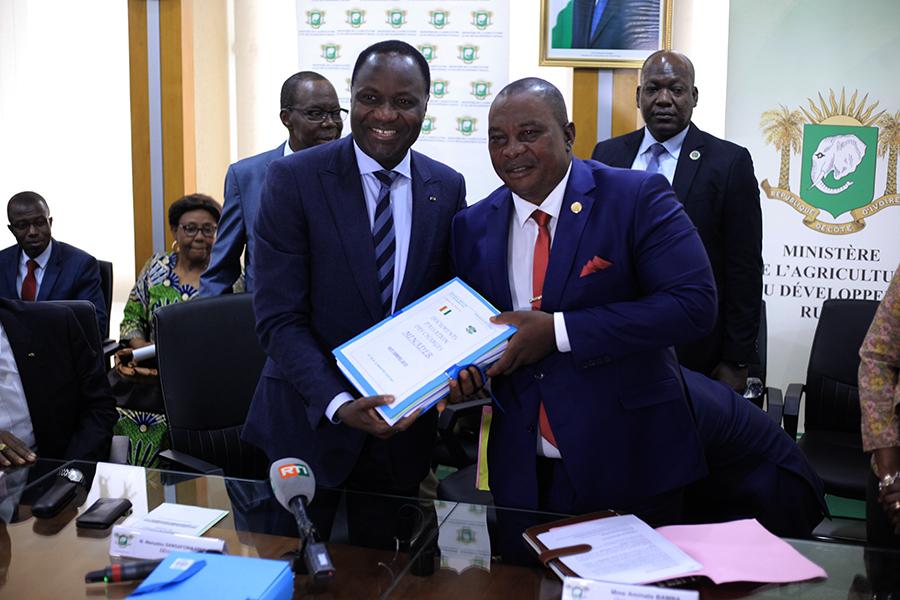 ministère de l'Agriculture,Kobenan Kouassion Adjoumani,Mamadou Sangafowa