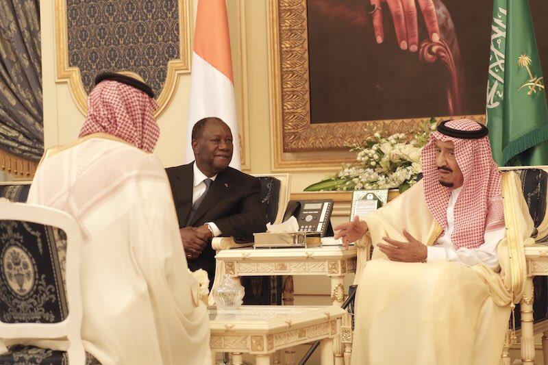 Président Ouattara,Arabie Saoudite,Salmane Ben Abdulaziz Al Saud