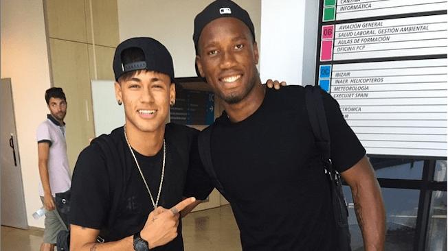 Football,Neymar,Didier Drogba.