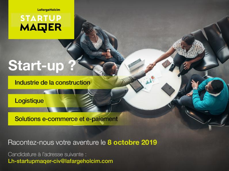 LafargeHolcim,startups innovantes