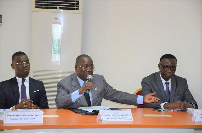 Rhdp,Jeannot Ahousso,Senat,Côte d'Ivore