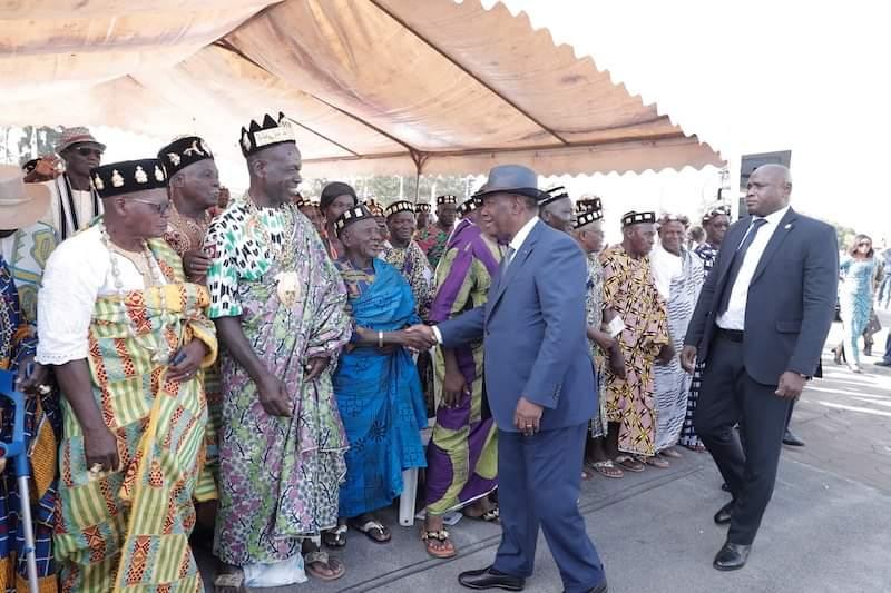 Alassane Ouattara,Yamoussoukro,Bitumage