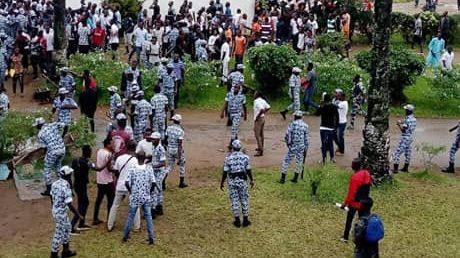 Forces spéciales,Policiers,Lycée classique d'Abidjan,altercation,échauffourées