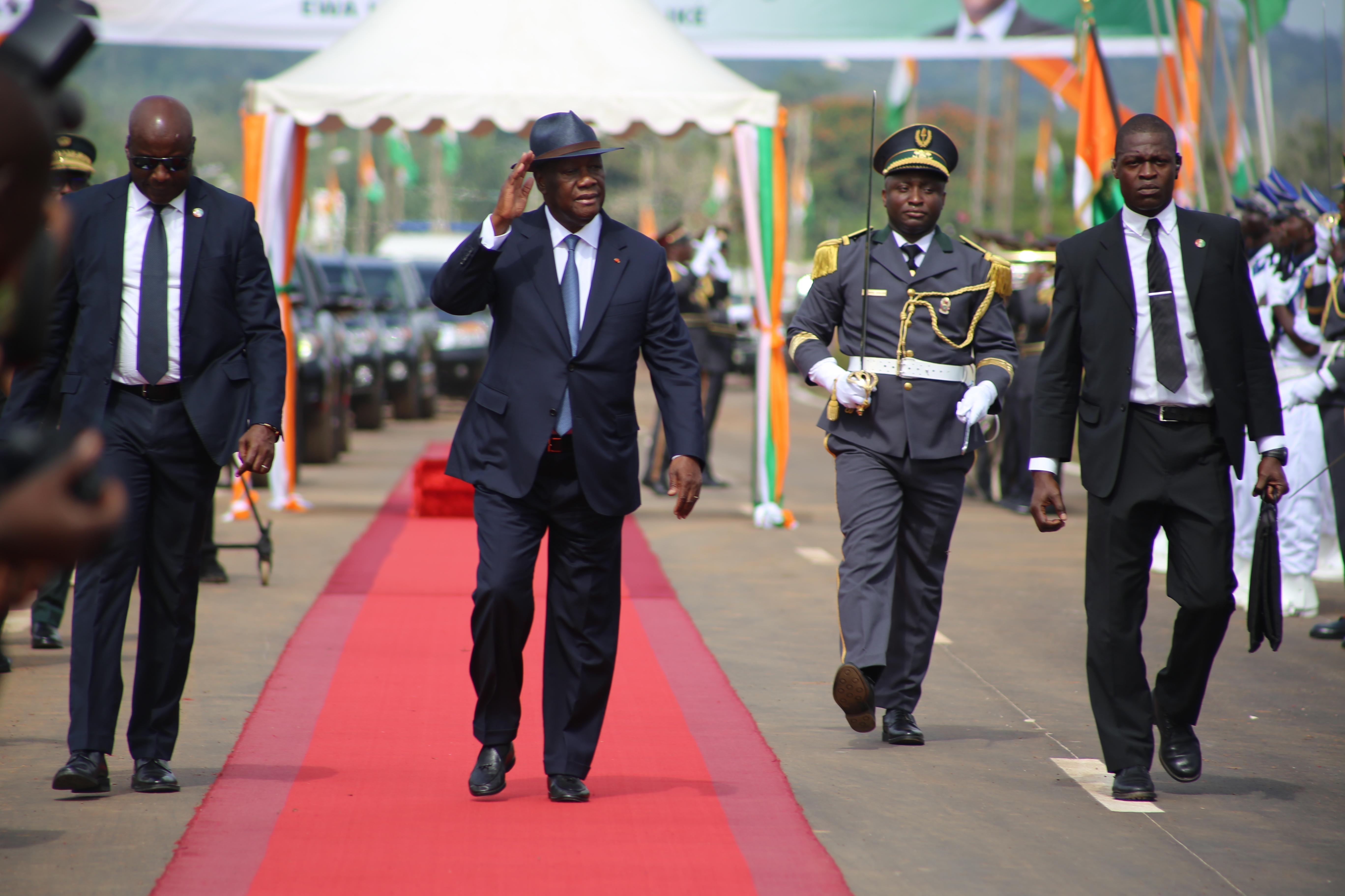 Visite d'Etat,N'Zi,région du N'Zi,Ouattara,Alassane Ouattara