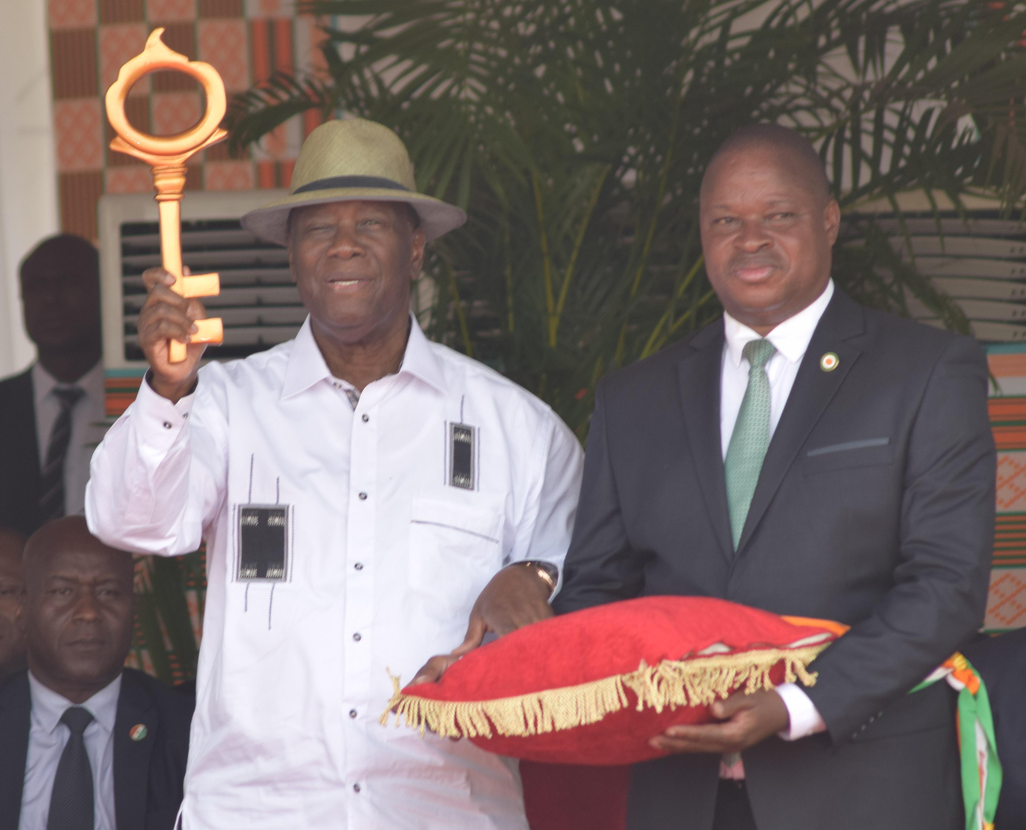 Alassane Ouattara,visite d'Etat,N'Zi