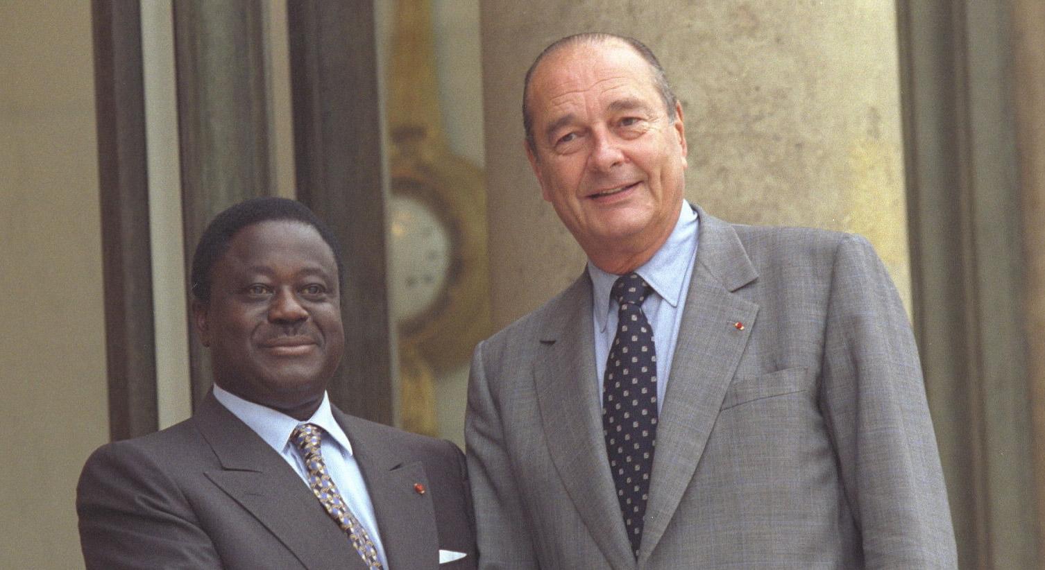 Jacques Chirac,Chirac,Henri Konan Bédié,décès
