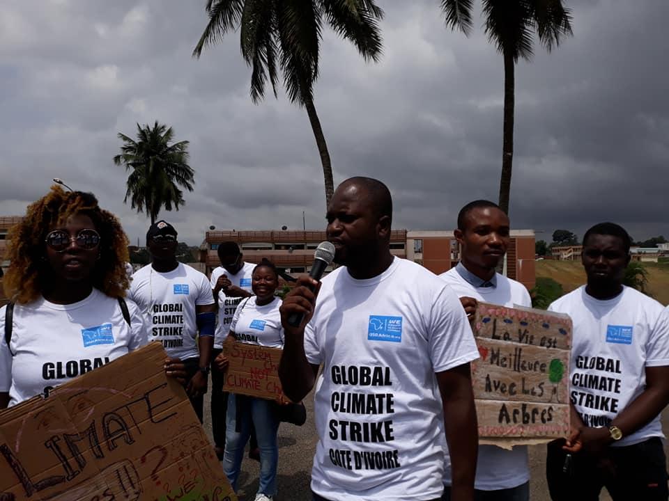 Marche pour le climat,étudiants,environnement