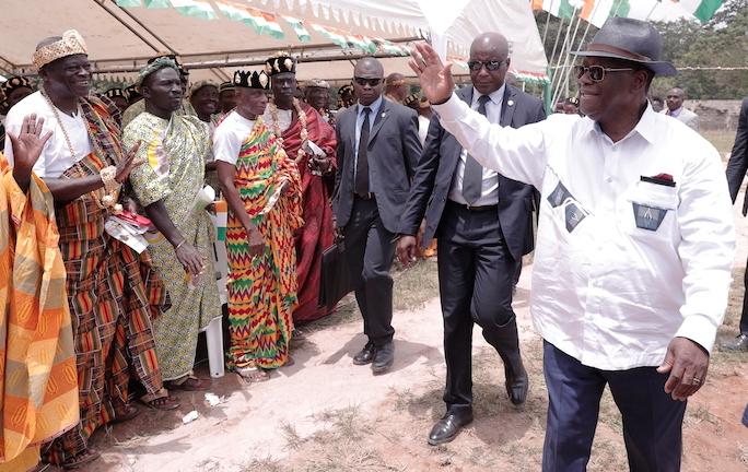 Ouattara,Alassane Ouattara,N'Zi,Visite d'Etat,paix