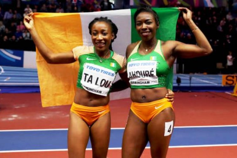 Athlétisme,Ta lou,Et Murielle Ahouré