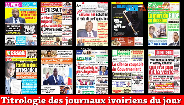 Alassane Ouattara,Dimbokro,Revue de presse