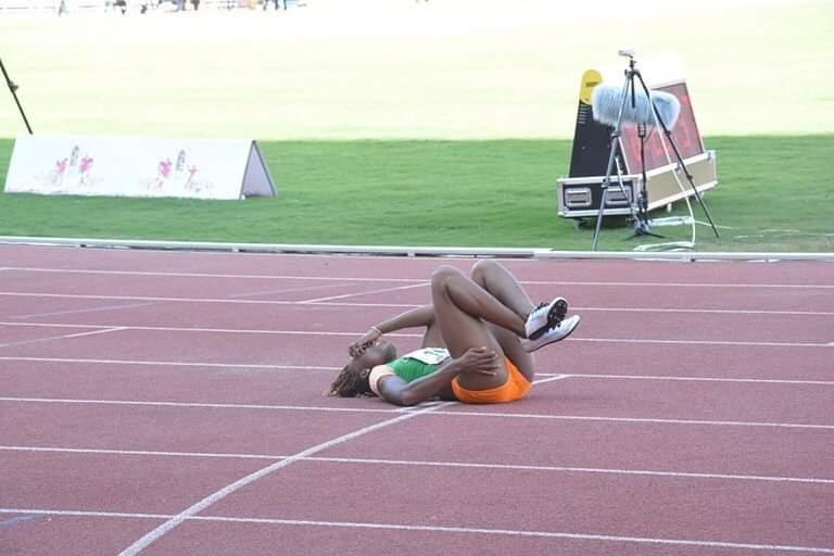 Athlétisme,Ta Lou Marie Josée