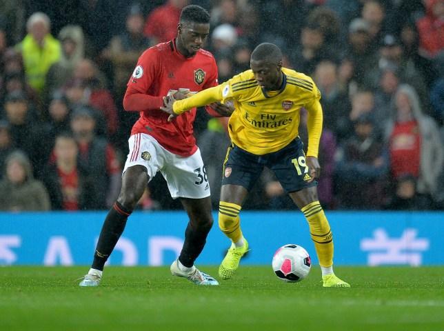 Football,Nicolas Pépé,Arsenal,Manchester United