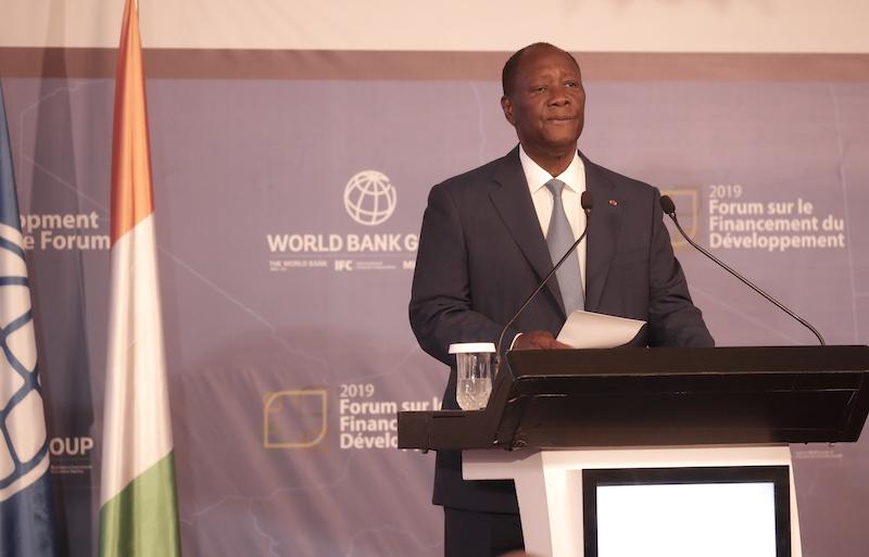Forum développement durable,Alassane Ouattara,Président de la République