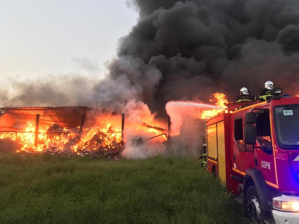 Sapeur-pompier militaire,gspm,intervention en septembre