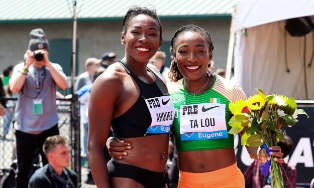 Athlétisme,Ta Lou Marie Josée,Murielle Ahouré,Cissé Gue