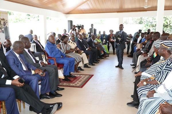 Amadou Gon Coulibaly,Region du Gurmon,Cavally