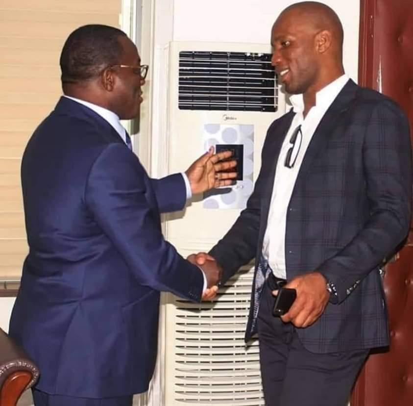 Football,Didier Drogba,Ministre des sports,Danho Paulin,Fif