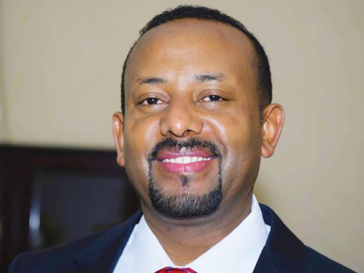 Prix Nobel de la paix, premier ministre éthiopien,