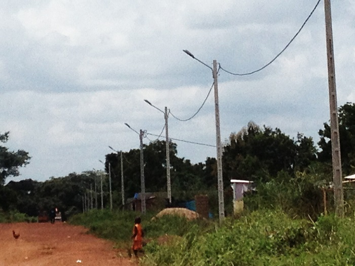 Bocanda,coupure d'électricité