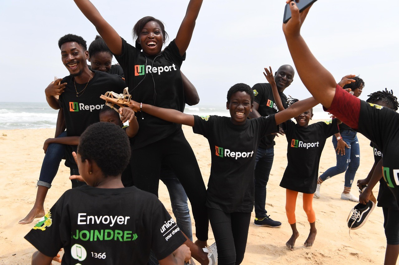 U-Report,U-Reporters,Côte d'Ivoire,1er pays,francophone