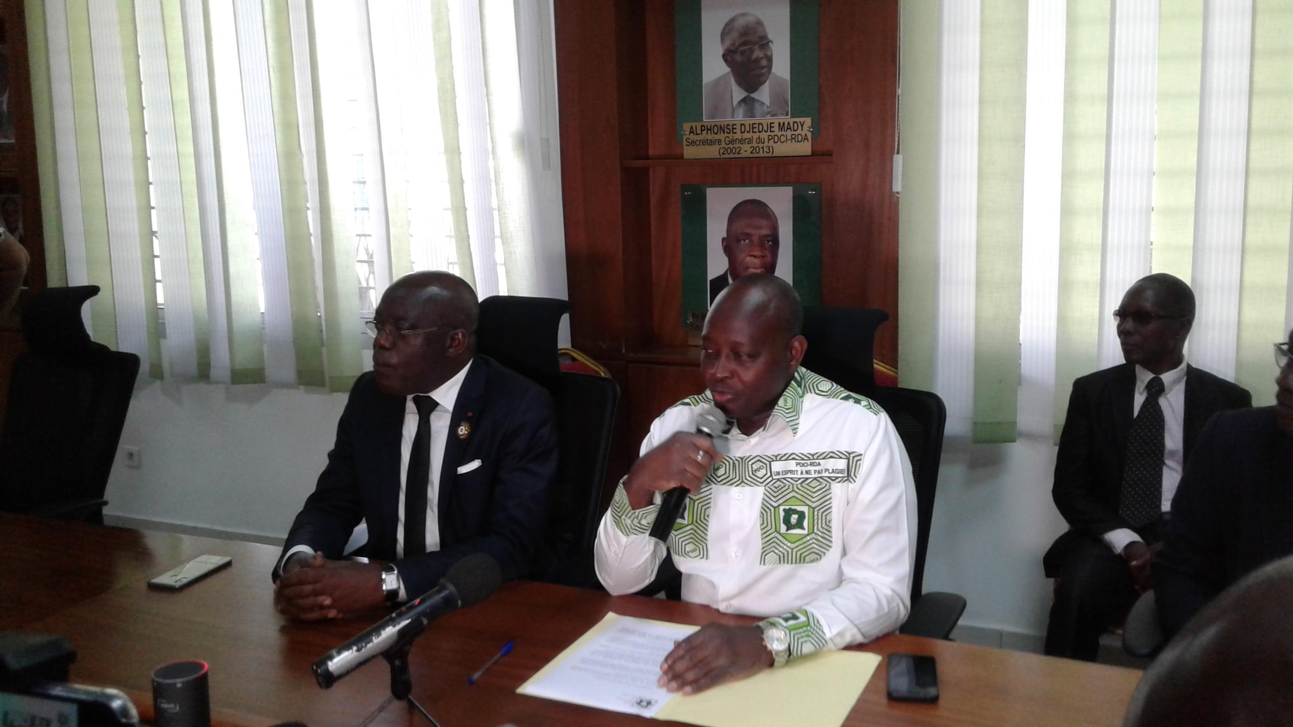 Meeting du PDCI,Yamoussoukro