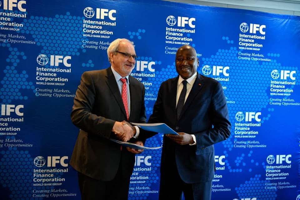 Signature de convention SFI-Côte d'Ivoire