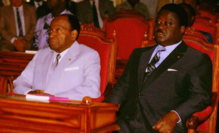 Meeting du PDCI à Yamoussoukro,hommage de Bédié à Houphouët