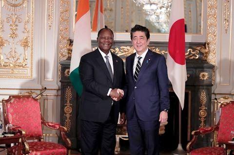 Présidence de la République,Ouattara au Japon