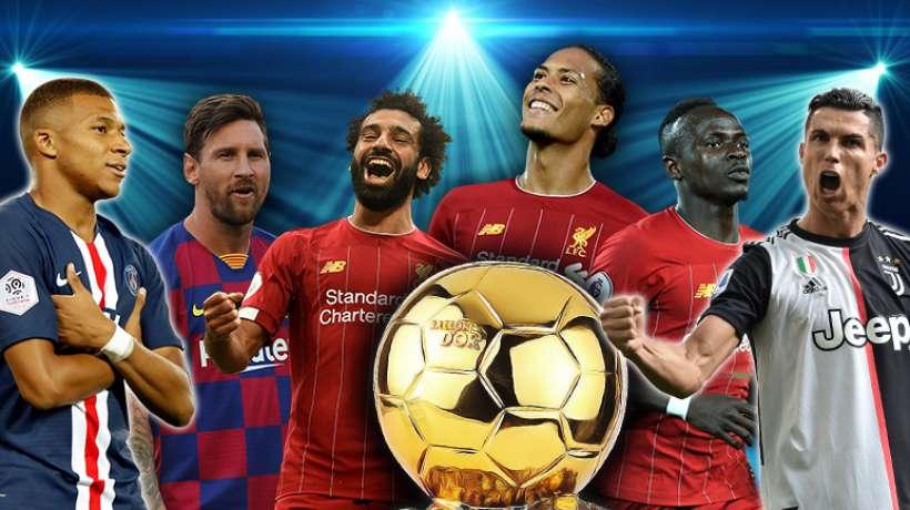 Ballon d'or,France football,30,finalistes,Messi,Cristiano