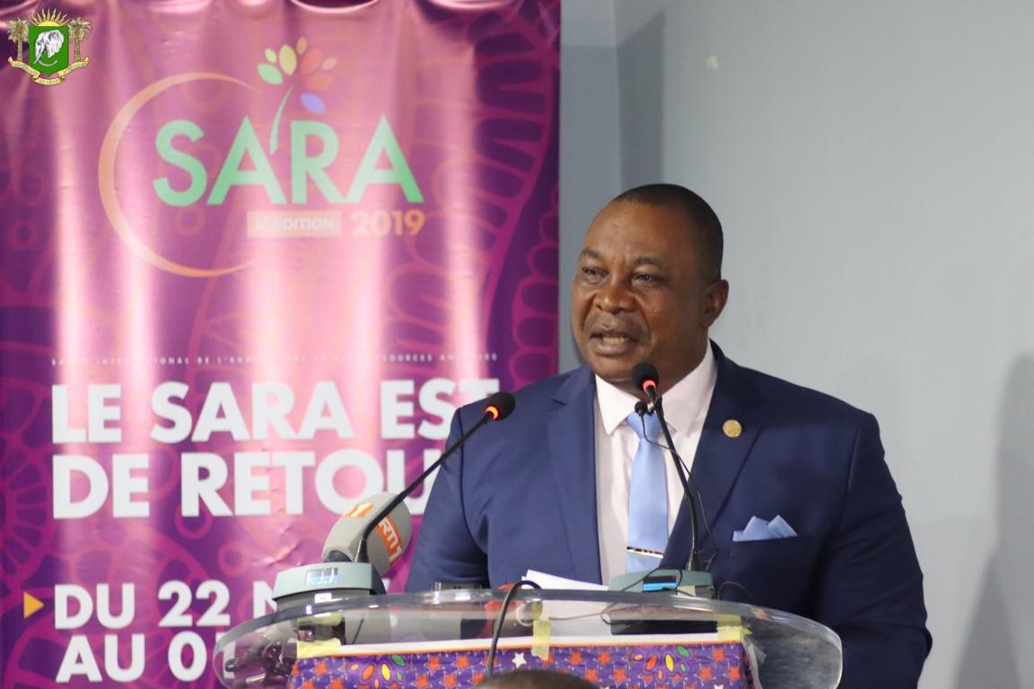 Sara 2019, Adjoumani