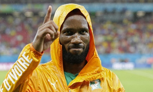 Football,Côte d'Ivoire,Didier Drogba,Mohamed Salah,Sadio Mané