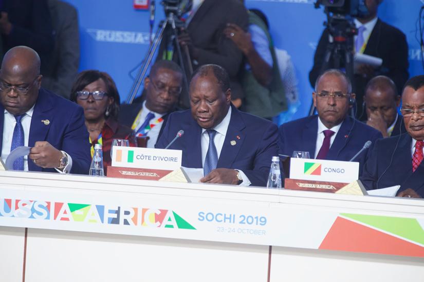 Président de la République,Alassane Ouattara,Retour de,Sotchi