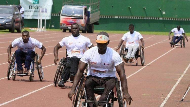Handicapé,Marathon