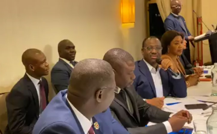 Guillaume Soro,Crush party,Milan,Italie,Laurent Gbagbo,Affi N'Guessan,Simone Gbagbo,Mamadou Koulibaly