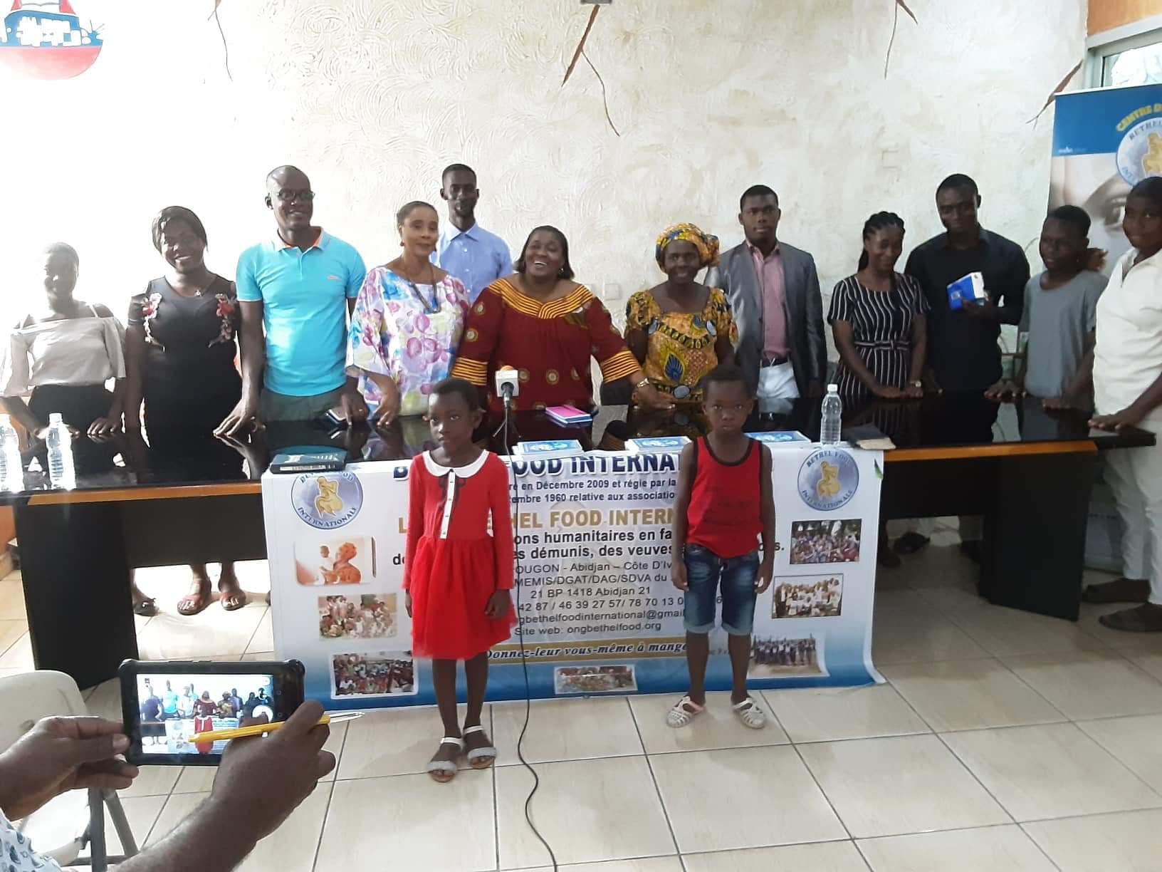 Orphelins,Ong,Bethel food international