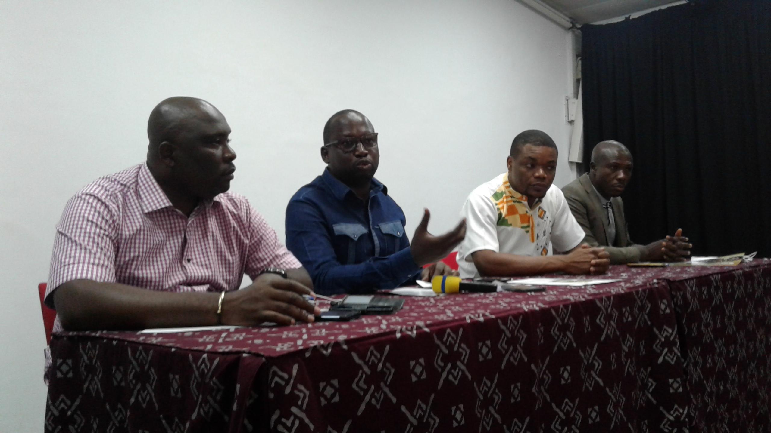 Ciné droit libre,Lancement,Sangaré Yacouba