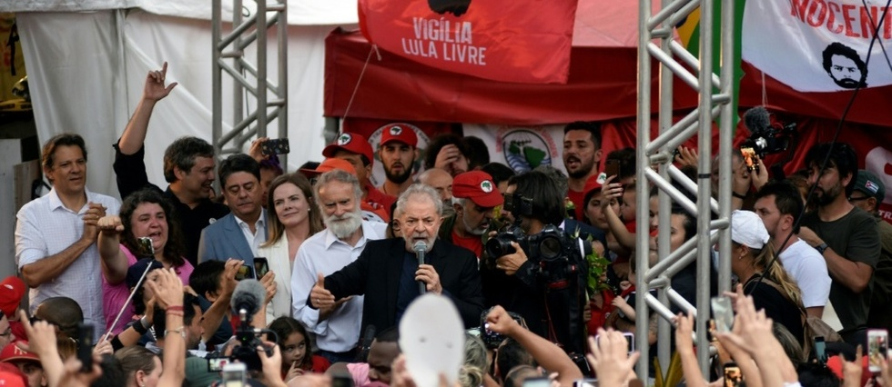Brésil,Lula,prison