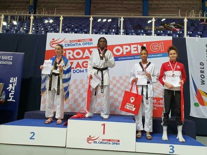 Taekwondo,Gagbi Ruth,Medaille d'or