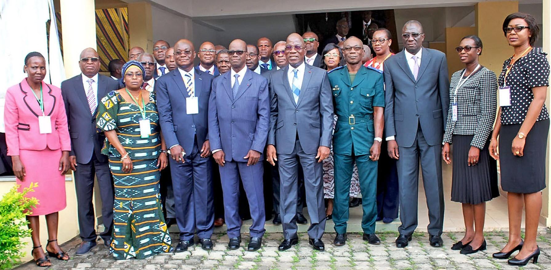 Trésor et comptabilité publique,paieries,Côte d'Ivoire,Assahoré Konan Jacques,Yamoussoukro