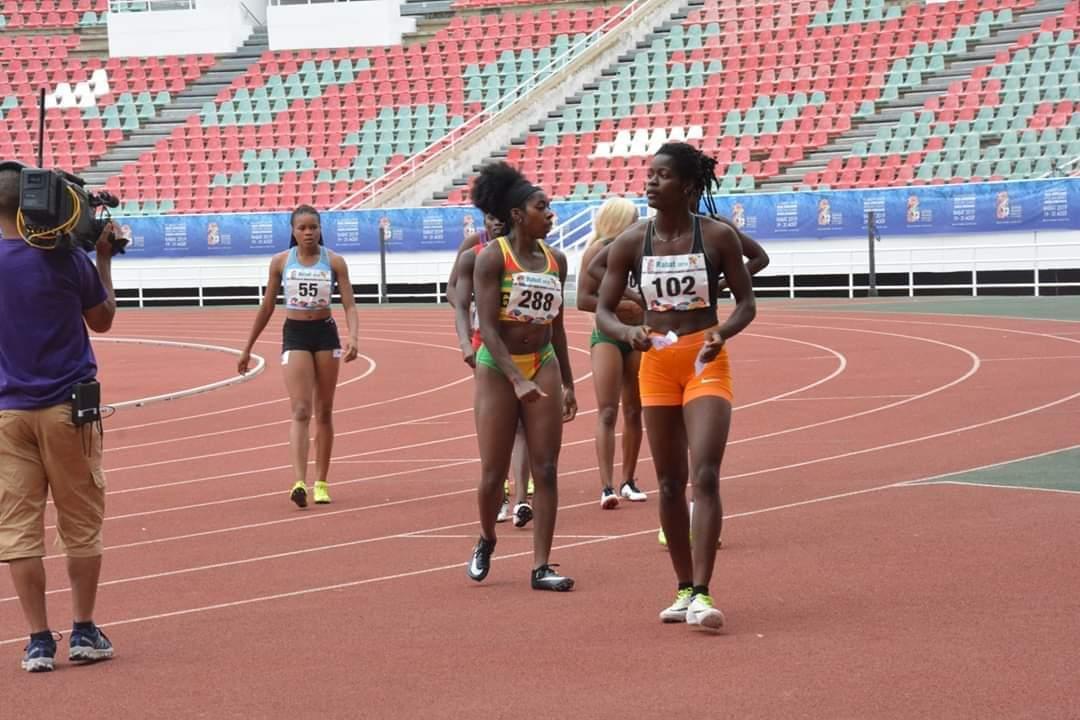 Athlétisme,Murielle Ahouré,Ta Lou Marie Josée