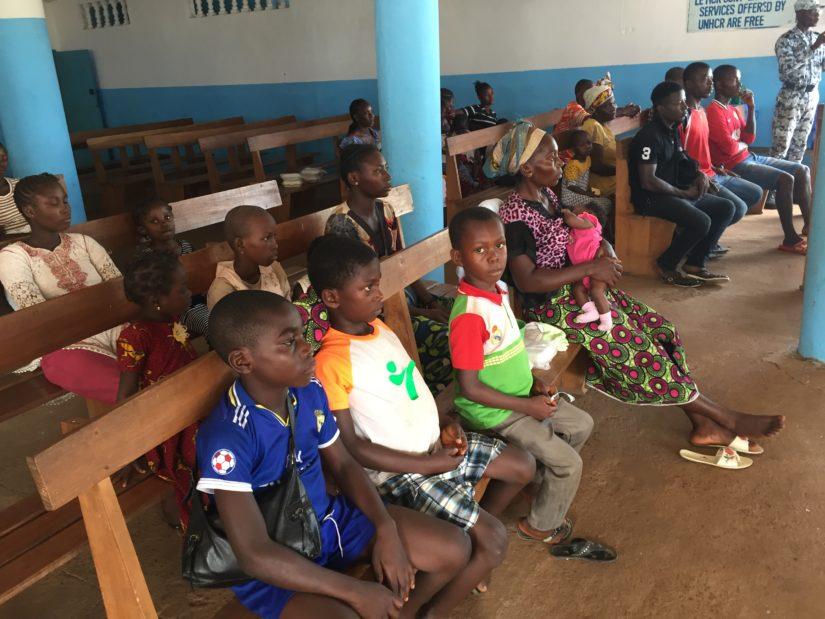 Retour réfugiés ivoiriens