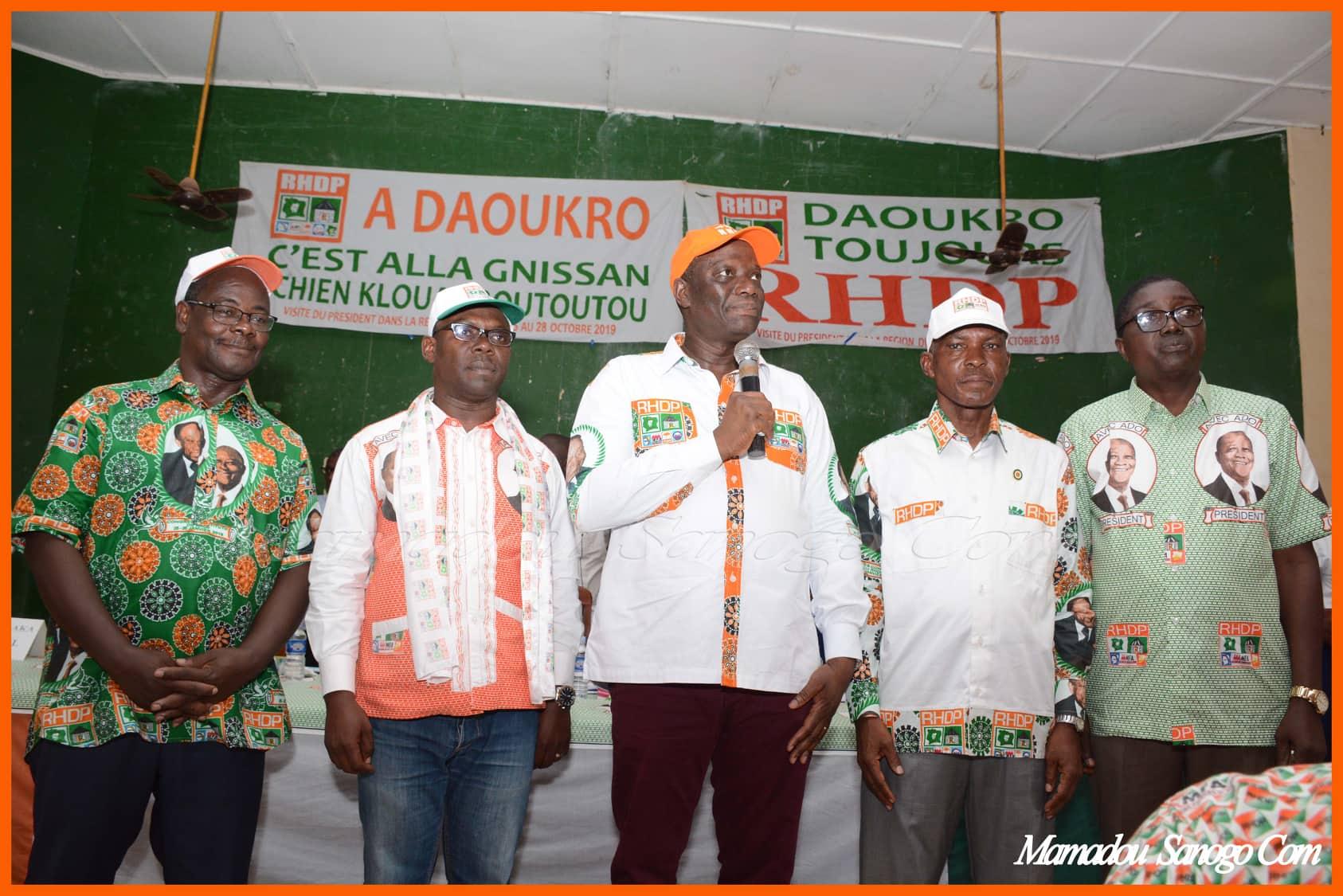 InvestiTunes coordonnateurs RHDP,Daoukro