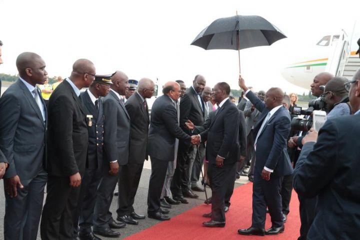 Président de la République,Alassane Ouattara