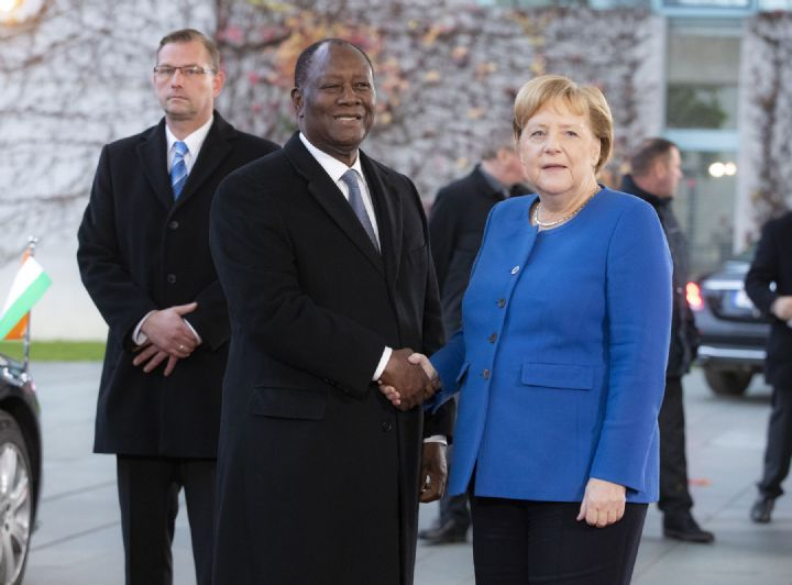 Alassane Ouattara,Allemagne
