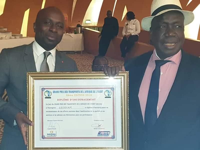 Grand prix des transports,  Sodexam,  Afrique de l'