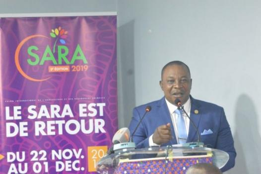 SARA 2019,Kobenan Kouassi Adjoumani,ministre de l'Agriculture