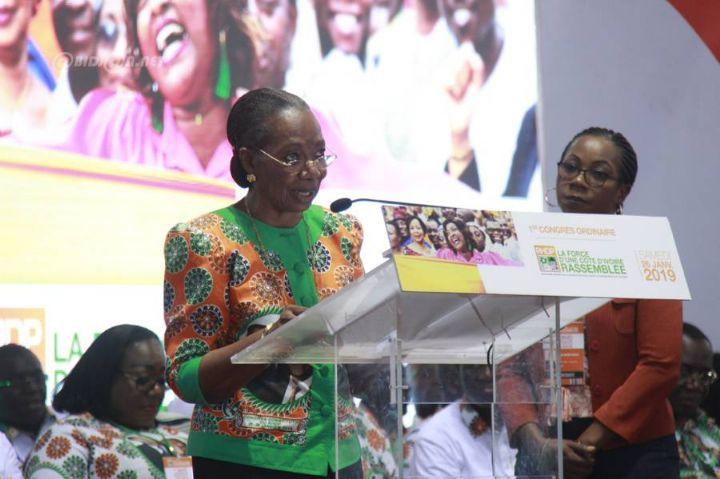 Meeting des femmes du RHDP,Henriette Dagri Diabaté,Grande chancelière